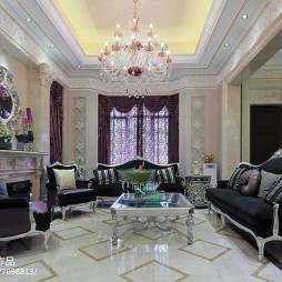 新古典风格别墅客厅设计