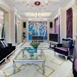 新古典风格奢华客厅布置
