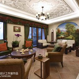 美式乡村格调客厅设计