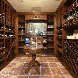 美式乡村风格酒窖设计案例