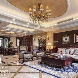 美式风格别墅客厅装修