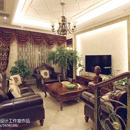 家装欧式风格客厅设计图片