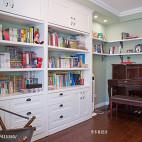 美式风格别墅书房装修