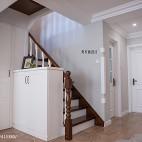 家居美式风格玄关装修图