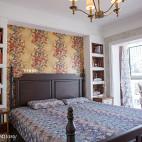 家居美式风格卧室布置
