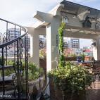 美式风格别墅空中花园设计