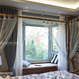 东南亚风格窗台设计效果图