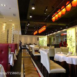 工装中餐厅过道设计