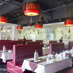 福顺天天中餐厅就餐区设计