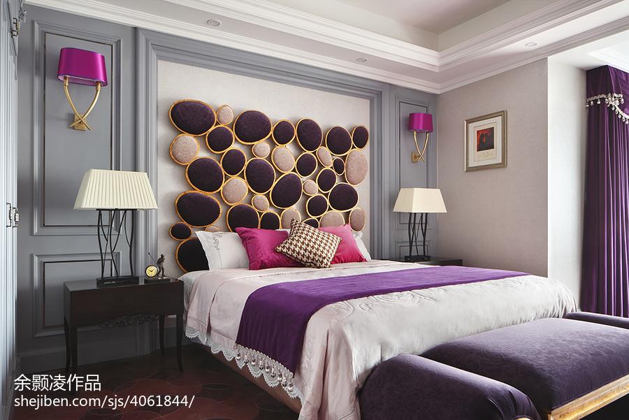 家居现代风格创意卧室布置