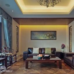中式格调别墅客厅装修