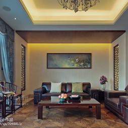 中式风格客厅效果图大全