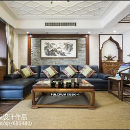 家装混搭风格客厅设计案例