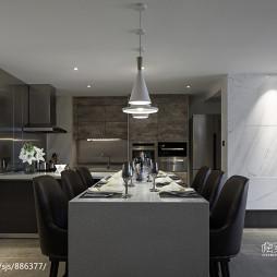 家装现代格调餐厅装饰图