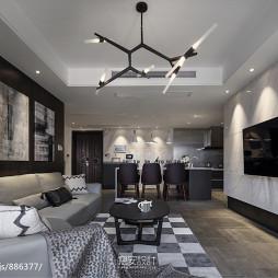 家装现代风格客厅装修