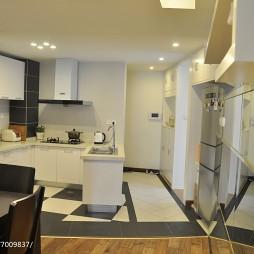 家装现代风格厨房装饰图
