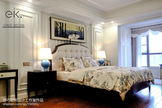 温馨美式格调卧室效果图