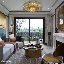 家装欧式风格客厅设计案例