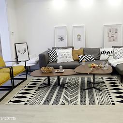 家装简欧风格客厅装饰图
