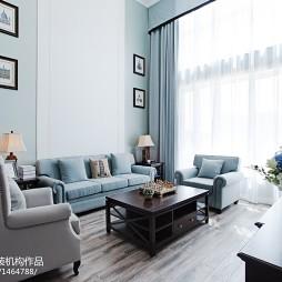 清新简欧风格客厅效果图