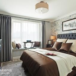 家装欧式风格卧室装修效果图