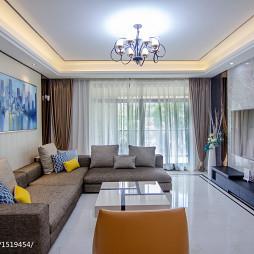 家装现代风格客厅装饰图