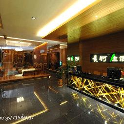 竹主题会所大厅设计