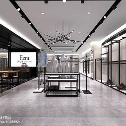 EZM快时尚男装店铺形象_2421875