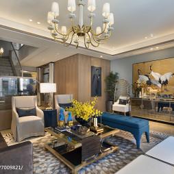 家裝中式格調客廳裝飾圖