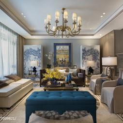 中式风格别墅客厅布置