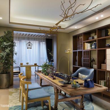 家居中式风格休闲区装修图