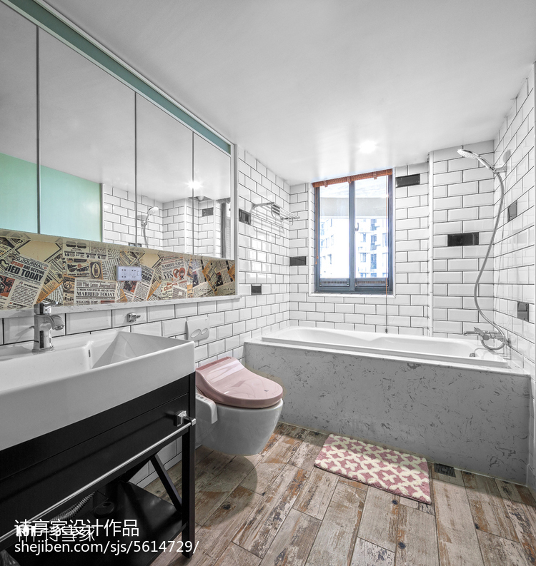 美式风格卫浴设计图片