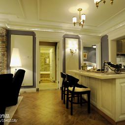 欧式风格家居吧台设计