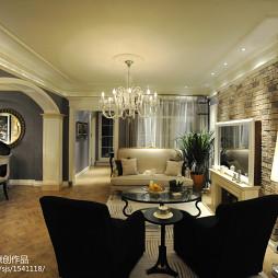 家装欧式风格客厅设计图