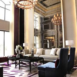 华丽简约风格客厅设计