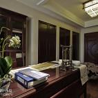 美式格调书房设计案例