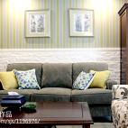 【久栖设计】北京罗马家园浓郁混搭美式_2424154