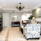 优雅美式风格客厅装修案例