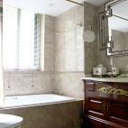 典雅美式风格卫浴装修