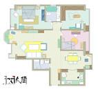 【久栖设计】北京罗马家园浓郁混搭美式_2424183