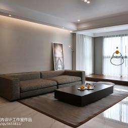 家装简约风格客厅设计案例