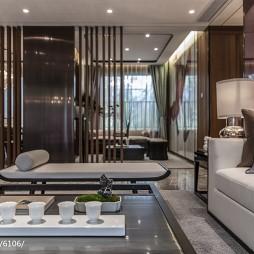 家居中式风格客厅装饰图