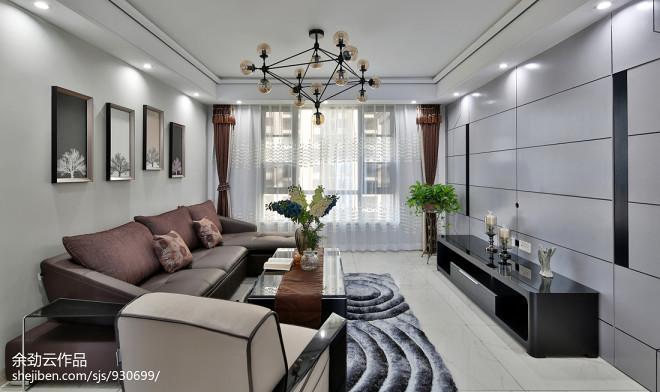 时尚简约格调客厅设计效果图