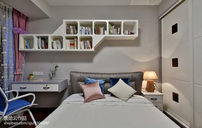 温馨简约风格别墅卧室布置