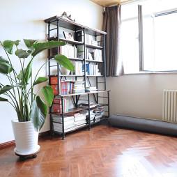 家装美式风格书架装修