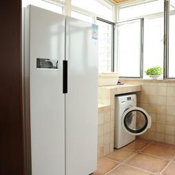 美式风格阳台洗衣房设计