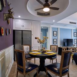 家装美式格调餐厅效果图