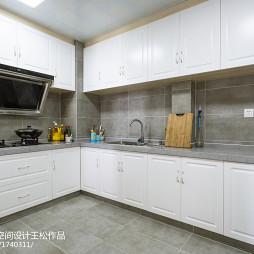 家装混搭风格厨房效果图