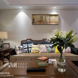 美式风格复式客厅装修