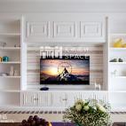 温馨美式风格背景墙装修